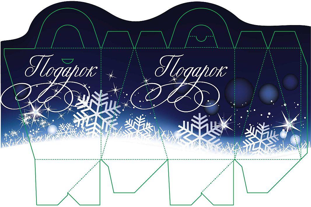 Новогодние дизайны упаковки